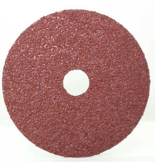 7 x 7/8 A/O 24 Grit Fiber-Discs A Type