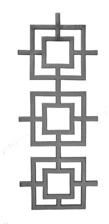 "CAST IRON CASTING(24-1/2""x9-3/4"")"