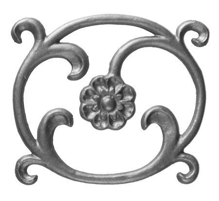 """Rosette, Bell Flower (6-1/4""""H, 7-1/4""""W)"""