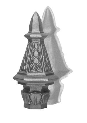 Post Cap 'Roman', SET of Two Halves