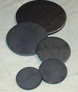 "2"" Round Base Plate, 1/8"""