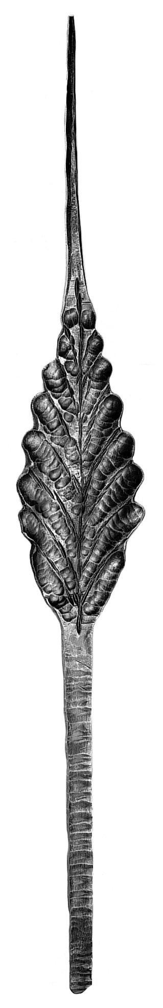 "Leaf, Flat, Large (40""H, 5-1/2""W)"