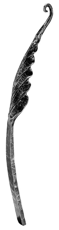 """Leaf, Curved, Medium (24""""H, 3-9/16""""W)"""
