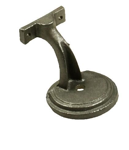 """C.I. Handrail Bracket, Round, 2-1/2""""CL"""