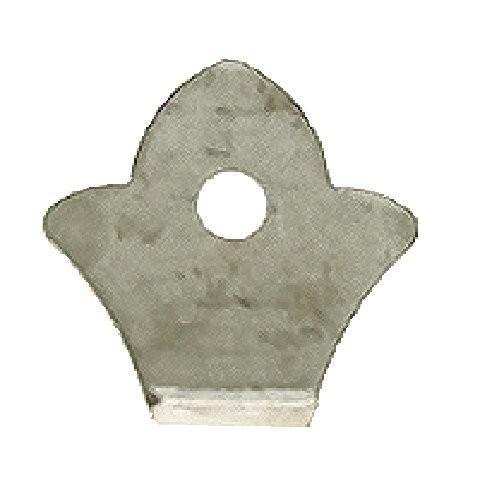 """WeldTab,Angle Flower,Single Hole,2-1/2""""H"""
