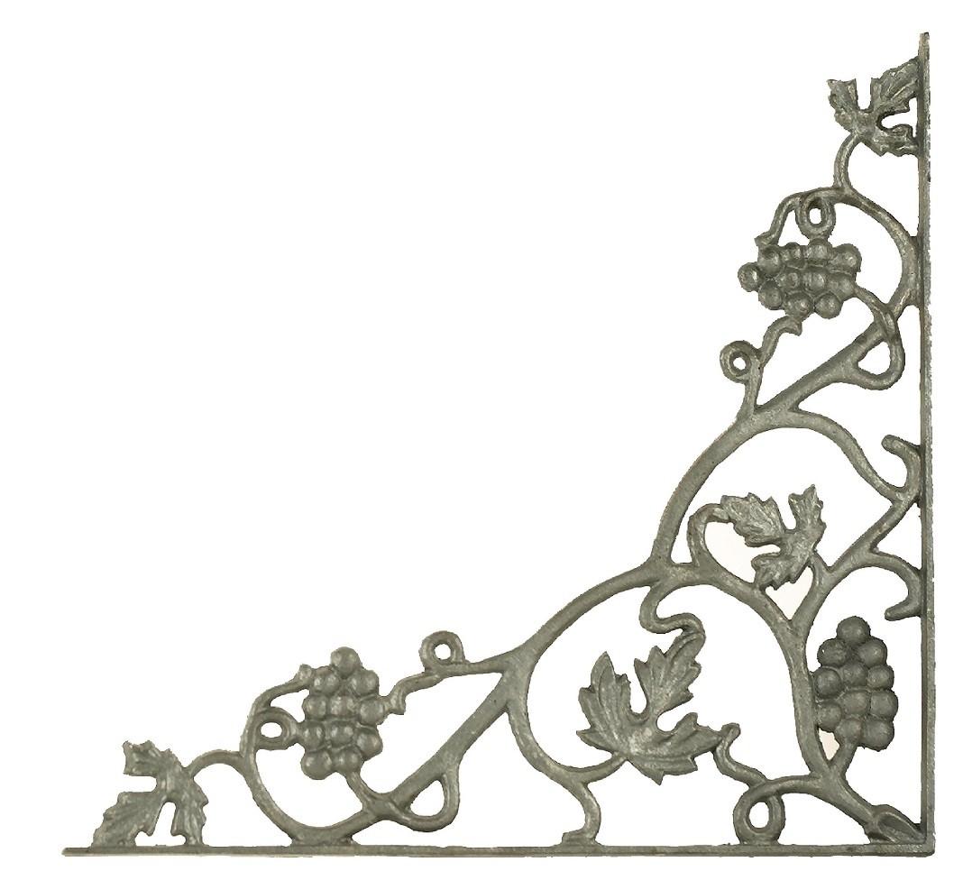 Cast Iron Corner Casting Grape