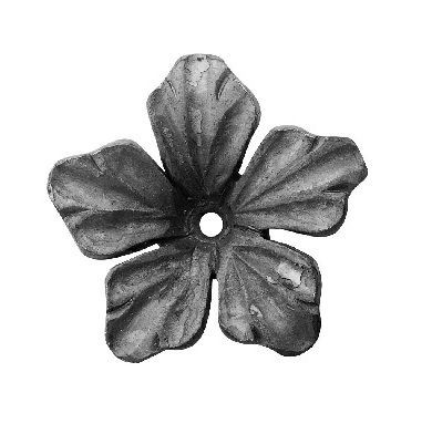 """Forged Flower (5/32""""T, 3-1/8""""D)"""