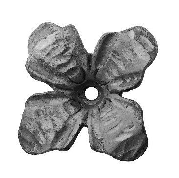 "Forged Flower (5/32""T, 3-3/4""D)"