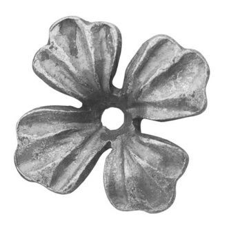 """Forged Flower (5/32""""T, 3-3/8""""D)"""