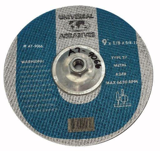 9x1/8x5/8-11 A24R Metal Cut-OFF T-27