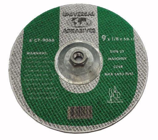9x1/8x5/8-11 C24R Masonry Cutting T-27