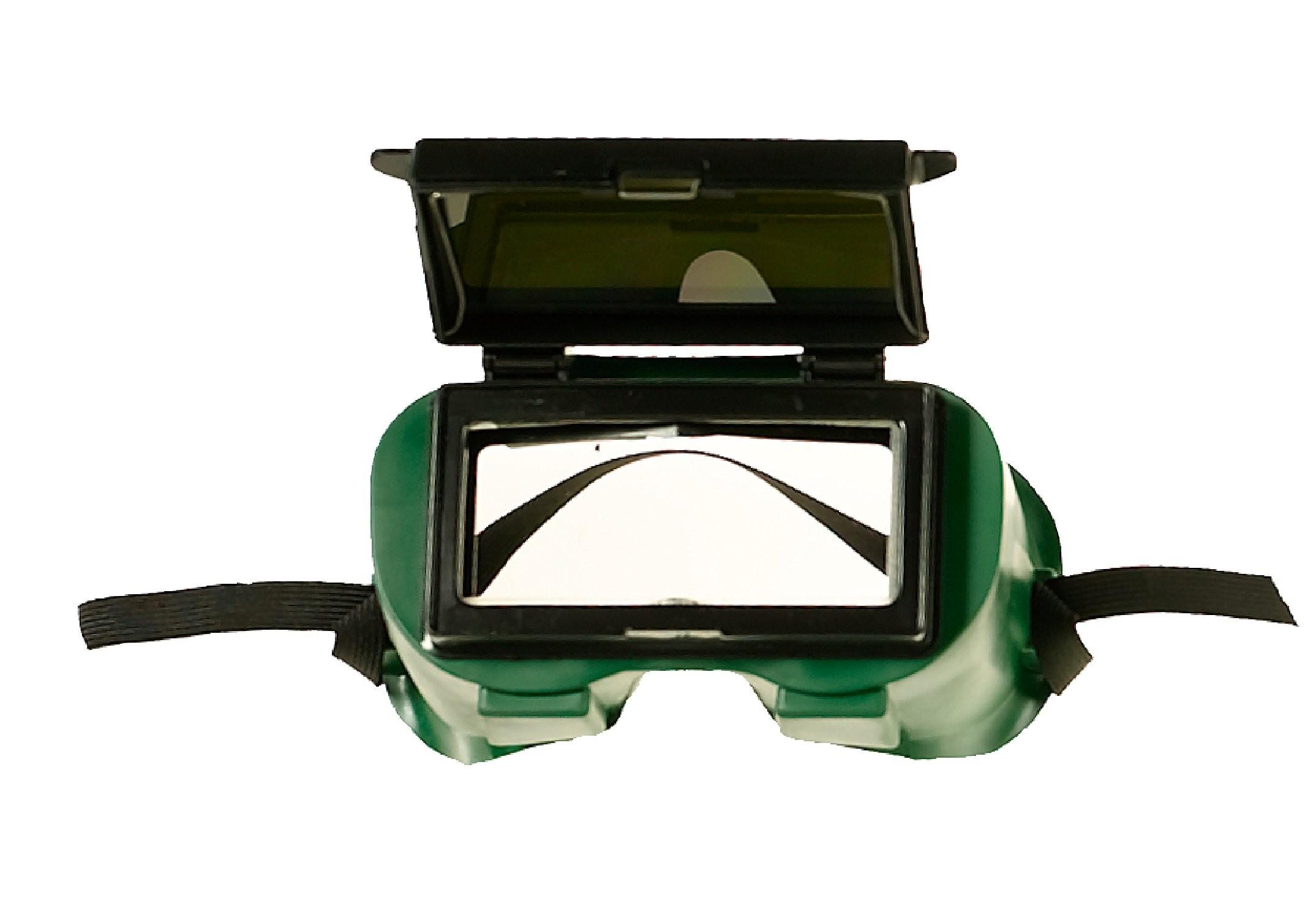 "2 x 4-1/4"" Goggle, Lift Front, Soft Fram"