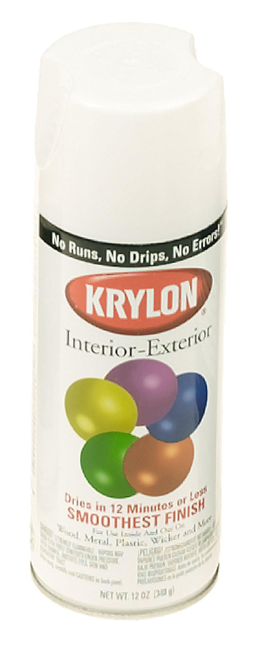 KRYLON Spray Paint - Glossy - White