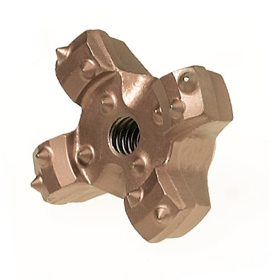 "3-1/8"" Cruciform Drill Head - Ratio Syst"