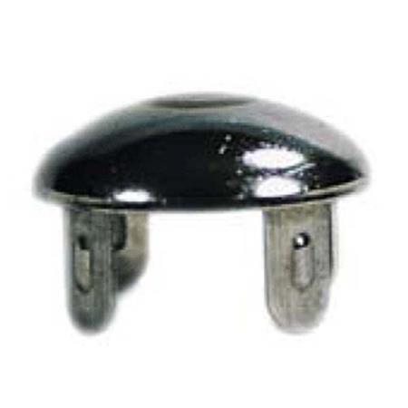 """Round Pipe Cap, 1-1/4"""" ID Schd-40, Type-"""