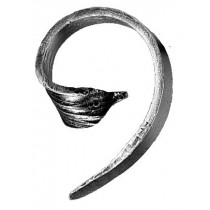 Forged Leaf Scroll, Left