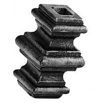 "1/2"" Cast Steel Baluster Collar sq."