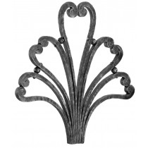 Finial Forged Steel (Hearts)