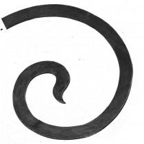 """Scroll End, Laser Cut (17""""x15-3/4"""")"""