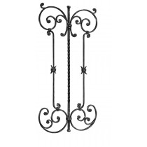 """Hand Forged Panel (35-1/2""""H, 18-1/8""""W)"""