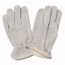 Grey Split Cowhide Keystone Thumb Lined