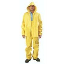 35mil Rain Suit, XXXL, YELLOW PVC 3 PC