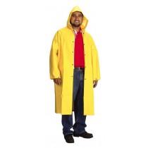 35mil Raincoat, Long, Yellow PVC