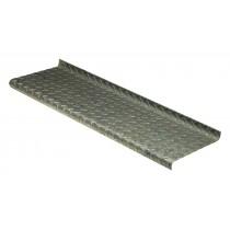 "11x33x1/8"" Diamond Plate Steps type D3"