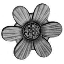 "Cast Steel Rosette (3-1/8""D)"
