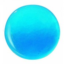 """Embellishment, Blue Glass, 3-5/16""""Dia"""