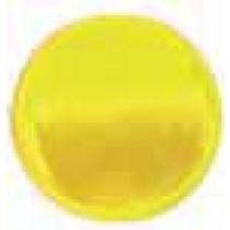 "Embellishment, Yellow Glass, 3-5/16""Dia"