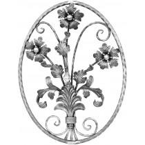 Flower Buquet w/Glass Elements