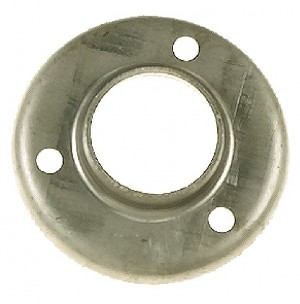 """Steel Cover Flange For 1-1/4"""" Pipe w/3 H"""